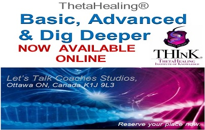 Seminar ThetaHealing Basic NOW available online